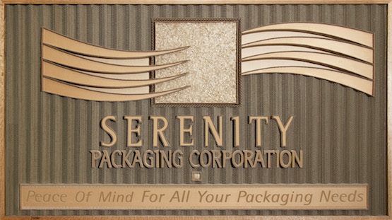 Serenity Packaging Banner Logo